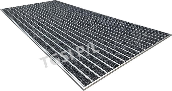 Recessed Aluminium Entrance Mat For Building Foyer Carpet